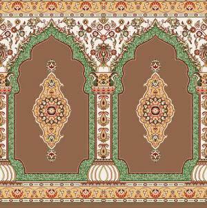 سجاده فرش- طرح بارگاه- نقش محراب