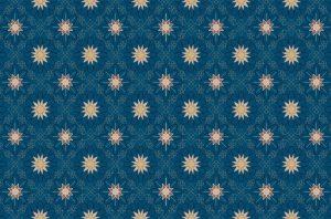 فرش تشریفات-طرح ستاره