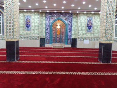 سجاده فرش, فرش سجاده, فرش سجاده ای, فرش مسجد, فرش نمازخانه